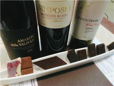 Gourmetseminar Schokolade und Wein