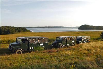 Jeep-Safari 6 Stunden Halbinsel Jasmund auf der Insel Rügen