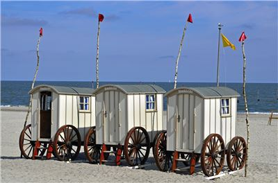 Insel Norderney mit Rad