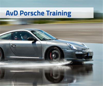 AvD Drift Intensiv Training mit Porsche Carrera 911