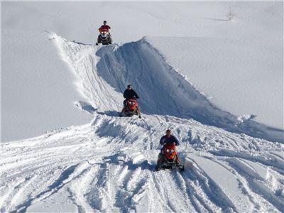 Snowmobile Fahrsicherheitstraining in Ruhpolding Bayern