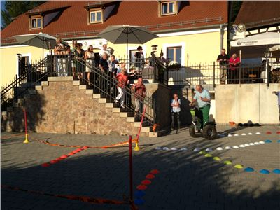 Segway Event - Parcours