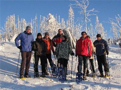 Iglu-Schneeschuhtour