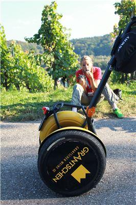 TECHNIK trifft Wein - Sonder-Tour mit dem Segway