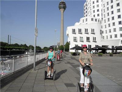 SEGWAY-Tour Düsseldorf - Rhein-Panorama