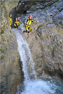 Canyoning Hachleschlucht