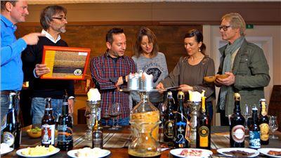 Bierverkostung mit dem Biersommelier