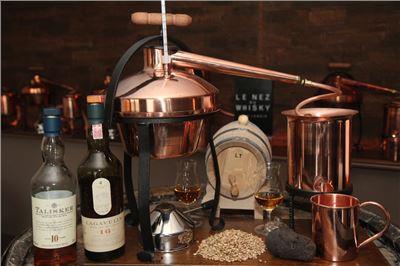 Whisky selbst machen als Hobby - großes Whisky-Seminar VILS