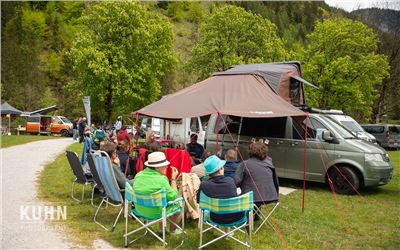 Camper Van Summit Meeting XL Paket 3 Nächte Do-So