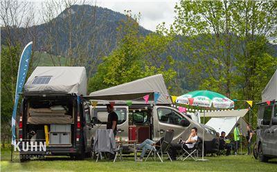 Das Allein Reisende Camper Van Summit Meeting XXL Paket 4 Nächte Mi-So