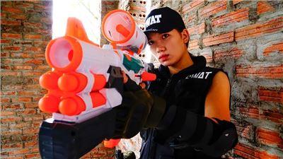 ClubCSI: 3 Std. SWAT Nerf Schlacht