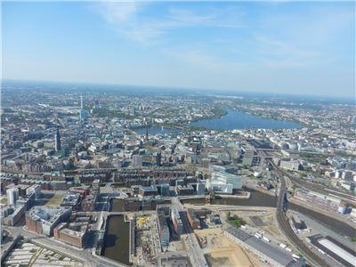 Panorama Helicopter-Rundflug Hamburg 20min.