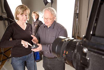 praktische Anwendung der digitalen Kamera