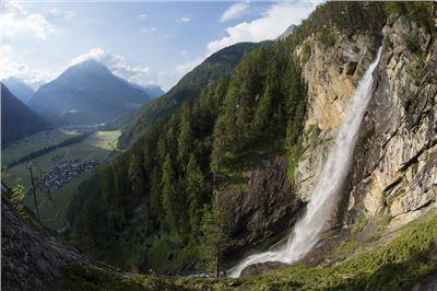 18 Längenfeld Kraftquell Lehner Wasserfall