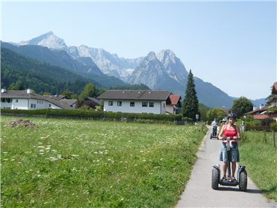 SEGWAY-Tour Garmisch Führung