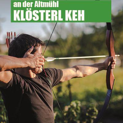 Klösterl bei Kelheim - Einsiedelei Bogenschiessen Kurs Einsteiger Erlebniskurs Samstags nachmittags