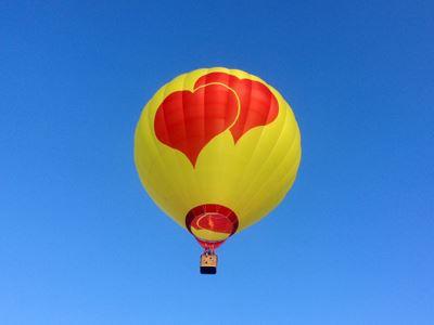 """Ballonfahrt für zwei """"Romantik exquisit"""""""