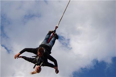 100 m Bungee Jumping Tandem Düsseldorf