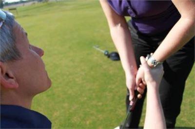 Turnier und Handicap Golfkurs-B