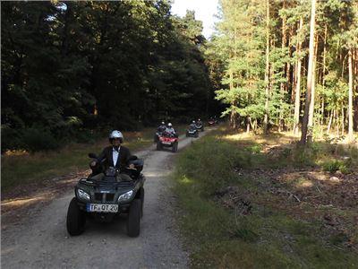 JGA Quad und Großkaliber  - JGA oder auch: piss up! ATV Quad Tour & richtig Grosskaliber schießen - kein Paintball! 014