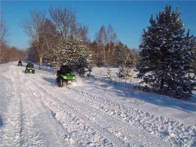"""Quad-Tour """"Feiertagsprogramm"""" - Quad Winter-Spezial-Tour an den Feiertagen als Weihnachtsgeschenk oder gemeinsames Erlebnis zu Weihnachten!  033"""