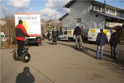 Segway Tour Bremen-Weser für 3 Stunden