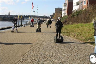 Segway Wochenendtour Bremen-Weser