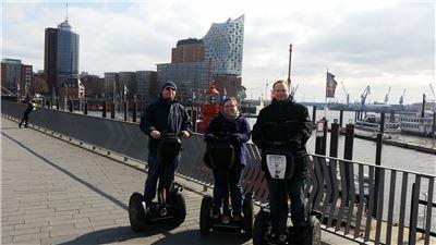 120 Minuten Segway-Tour  HafenCity Hamburg