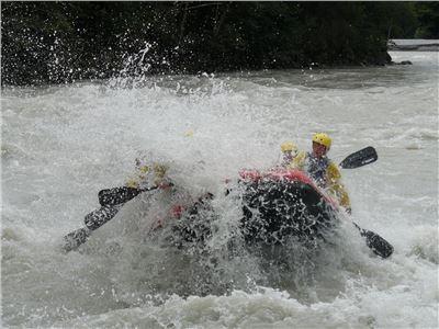 "Rafting ""Ötztaler Ache"" Dauer ca. 3 Std."
