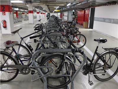 Jahreskarte Fahrradparken in der Radstation Potsdam Hbf