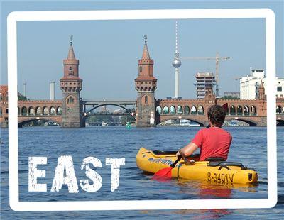 Kajak Berlin Ost-Tour: Urbane Moderne