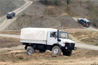 Unimog Off Road Fahren