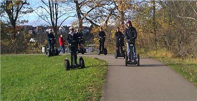 Segway-Tour um den Schömberger Stausee bei Balingen BIG Tour