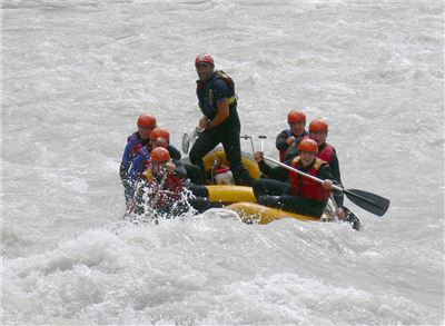 Rafting-Tour Imster Schlucht