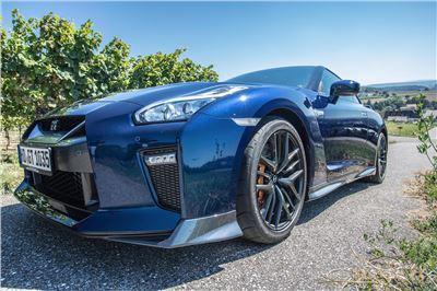 GT-R 2017 Blue selbst fahren - 60min.