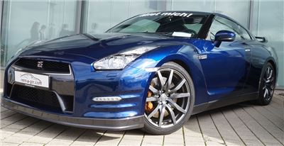 GT-R Blue 550PS Speedtaxi - 60min.