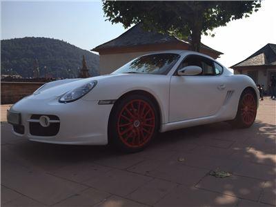 Porsche Cayman S - 1 Tag inkl. 200km