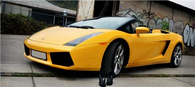 Lamborghini Gallardo-Spyder - Wochentarif (Mo.-So.) inkl. 650km