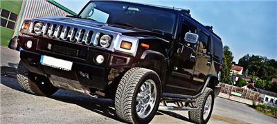 Hummer H2 4 Tage (Mo.-Do.) inkl. 600km