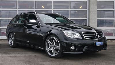 Mercedes-Benz AMG C63 selbst fahren - 30min.