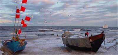 Winteridylle auf Usedom