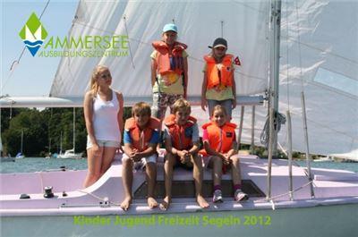 Kinder- und Jugendsegeln Freizeit am Ammersee
