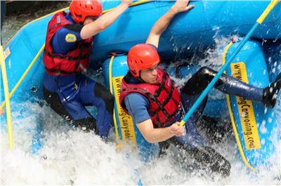 Double Rafting Wochenend Paket