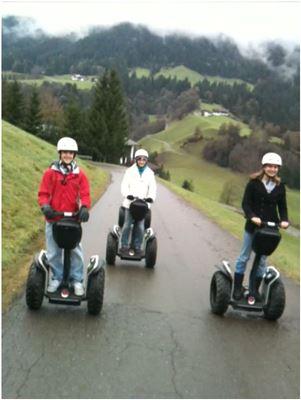 Golddorf Segway Tour in Nussdorf am Inn