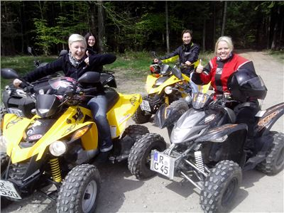 Sommer Quad Tour bei Regensburg 2 Std.